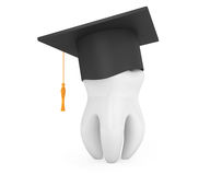 Βαθμολόγηση ακαδημαϊκή ΚΑΠ με το άσπρο δόντι Στοκ εικόνα με δικαίωμα ελεύθερης χρήσης