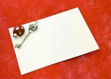 βαθμός καρτών Στοκ Εικόνα
