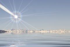 βαθύς αντίκτυπος Στοκ φωτογραφίες με δικαίωμα ελεύθερης χρήσης