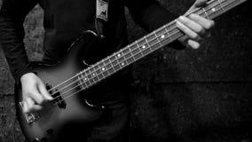 Βαθύς κιθαρίστας απόθεμα βίντεο