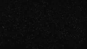 Βαθύ διαστημικό υπόβαθρο κινήσεων ελεύθερη απεικόνιση δικαιώματος