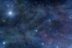 Βαθύ διαστημικό νεφέλωμα αστεριών κόσμου Στοκ εικόνα με δικαίωμα ελεύθερης χρήσης