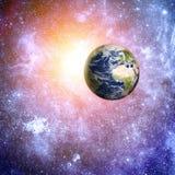 Βαθύ διαστημικό υπόβαθρο Στοκ φωτογραφίες με δικαίωμα ελεύθερης χρήσης