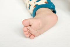 βαθύ μασάζ ποδιών πεδίων μωρών ρηχό Στοκ Εικόνες
