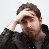 βαθύ όμορφο άτομο ματιών αρσενικό Στοκ εικόνες με δικαίωμα ελεύθερης χρήσης