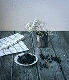Βακκίνια και λουλούδια Στοκ Φωτογραφίες
