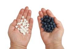Βακκίνια και φάρμακα Στοκ εικόνες με δικαίωμα ελεύθερης χρήσης