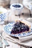 Βακκίνιο, μύρτιλλο ξινό με lavender Στοκ εικόνα με δικαίωμα ελεύθερης χρήσης