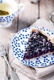 Βακκίνιο, μύρτιλλο ξινό με lavender Στοκ φωτογραφία με δικαίωμα ελεύθερης χρήσης