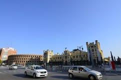 Βαλένθια, Ισπανία - 18 Αυγούστου 2017: Plaza de Toros de Βαλένθια Στοκ Εικόνες