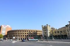 Βαλένθια, Ισπανία - 18 Αυγούστου 2017: Plaza de Toros de Βαλένθια Στοκ φωτογραφία με δικαίωμα ελεύθερης χρήσης
