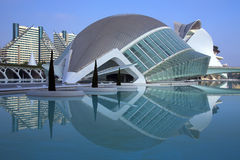 Βαλέντσια - πόλη των τεχνών & των επιστημών - Ισπανία Στοκ Εικόνες