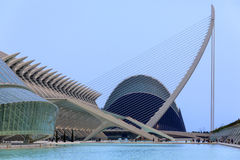 Βαλέντσια - πόλη των τεχνών & των επιστημών - Ισπανία Στοκ φωτογραφία με δικαίωμα ελεύθερης χρήσης