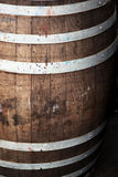 βαλανιδιά βαρελιών ξύλινη Στοκ εικόνες με δικαίωμα ελεύθερης χρήσης