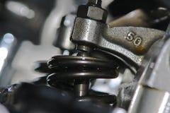βαλβίδες μοτοσικλετών Στοκ Φωτογραφίες