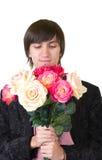 βαλεντίνοι ατόμων λουλουδιών Στοκ Εικόνες