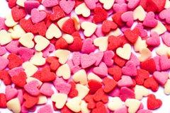 βαλεντίνοι καρδιών ημέρας ανασκόπησης Η έννοια του βαλεντίνου Στοκ Εικόνα