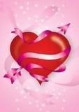 βαλεντίνοι καρδιών Στοκ φωτογραφία με δικαίωμα ελεύθερης χρήσης