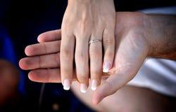βαλεντίνοι χεριών ημέρας Στοκ Εικόνες