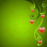 βαλεντίνος αγάπης ημέρας ανασκόπησης ελεύθερη απεικόνιση δικαιώματος