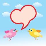βαλεντίνος αγάπης καρδιώ&n Στοκ εικόνα με δικαίωμα ελεύθερης χρήσης