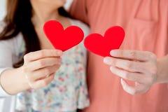 Βαλεντίνος ζευγών αγάπης Στοκ φωτογραφίες με δικαίωμα ελεύθερης χρήσης