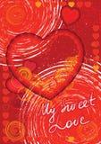 βαλεντίνος ημέρας s καρτών Στοκ εικόνες με δικαίωμα ελεύθερης χρήσης