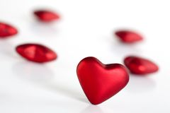 βαλεντίνος καρδιών Στοκ Φωτογραφία