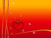 βαλεντίνος καρδιών Στοκ φωτογραφίες με δικαίωμα ελεύθερης χρήσης