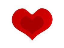 βαλεντίνος καρδιών s ημέρας Στοκ φωτογραφία με δικαίωμα ελεύθερης χρήσης