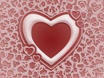 βαλεντίνος καρδιών s ελεύθερη απεικόνιση δικαιώματος