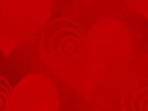 βαλεντίνος καρδιών SAN ανασ& Στοκ φωτογραφία με δικαίωμα ελεύθερης χρήσης
