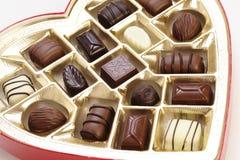 βαλεντίνος σοκολάτας s Στοκ Εικόνες