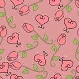 βαλεντίνος τριαντάφυλλ&omeg απεικόνιση αποθεμάτων
