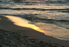 βαλτική παραλία Στοκ Φωτογραφία