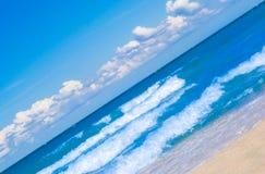 βαλτικός μπλε ουρανός θάλασσας σύννεφων στοκ φωτογραφία με δικαίωμα ελεύθερης χρήσης