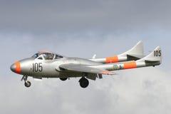 Βαμπίρ de Havilland DH.100 Στοκ εικόνα με δικαίωμα ελεύθερης χρήσης