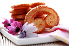 βανίλια ζάχαρης μπισκότων Στοκ εικόνα με δικαίωμα ελεύθερης χρήσης