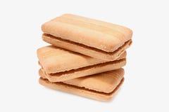 βανίλια 2 μπισκότων Στοκ φωτογραφία με δικαίωμα ελεύθερης χρήσης