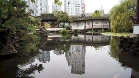 ΒΑΝΚΟΥΒΕΡ, ΚΑΝΑΔΑΣ - ΤΟ ΣΕΠΤΈΜΒΡΙΟ ΤΟΥ 2014: Ο Δρ Κλασσικός κινεζικός κήπος yat-Sen ήλιων Στοκ φωτογραφία με δικαίωμα ελεύθερης χρήσης