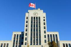 Βανκούβερ Δημαρχείο, Βανκούβερ, Π.Χ., Καναδάς Στοκ εικόνες με δικαίωμα ελεύθερης χρήσης