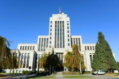 Βανκούβερ Δημαρχείο, Βανκούβερ, Π.Χ., Καναδάς Στοκ Εικόνες