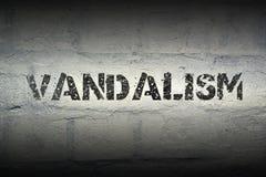 Βανδαλισμός WORD GR στοκ εικόνες με δικαίωμα ελεύθερης χρήσης
