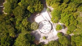 Βαπτιστήριο επί του archeological τόπου Butrint στην Αλβανία Στοκ φωτογραφία με δικαίωμα ελεύθερης χρήσης