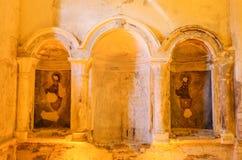 Βαπτιστική εκκλησία του ST John σε Sirince, Selcuk, Ιζμίρ Στοκ φωτογραφία με δικαίωμα ελεύθερης χρήσης
