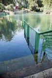 Βαπτιστική περιοχή ποταμών Ιορδάνης Στοκ φωτογραφία με δικαίωμα ελεύθερης χρήσης