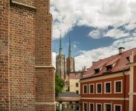 βαπτιστικός καθεδρικός &n Στοκ εικόνα με δικαίωμα ελεύθερης χρήσης
