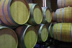 βαρέλια κρασιού Στοκ Φωτογραφίες