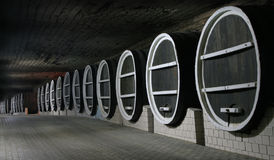 βαρέλια παλαιού κρασιού Στοκ Εικόνα