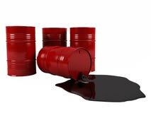 βαρέλια πετρελαίου Στοκ Φωτογραφία